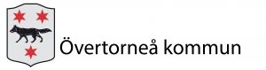 Logotyp för Övertorneås-kommunvapen-med-text